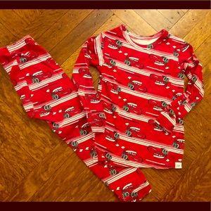 Baby Gap Lightning McQueen Santa pjs